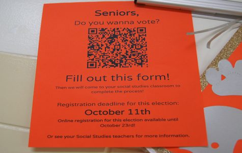 Eligible Seniors Can Register for Election at LHS