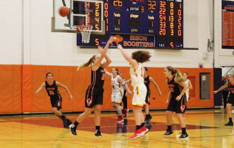 Girls Varsity Basketball Fights Hard Against Mother McAuley