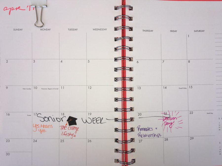 Senior+Week+starts+Monday%2C+April+17+and+goes+through+Friday%2C+April+21.