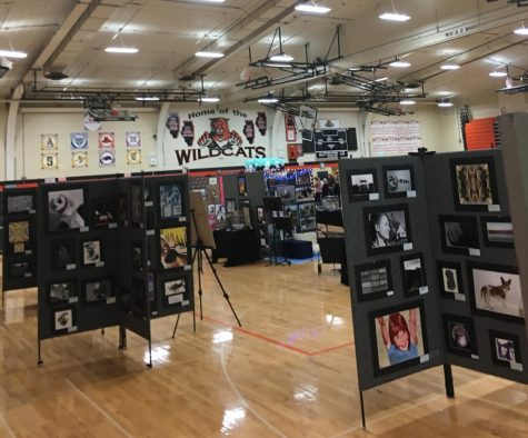 Art show showcases student talent