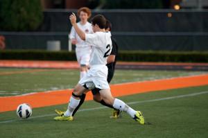 Boys Varsity Soccer: The Sidelines