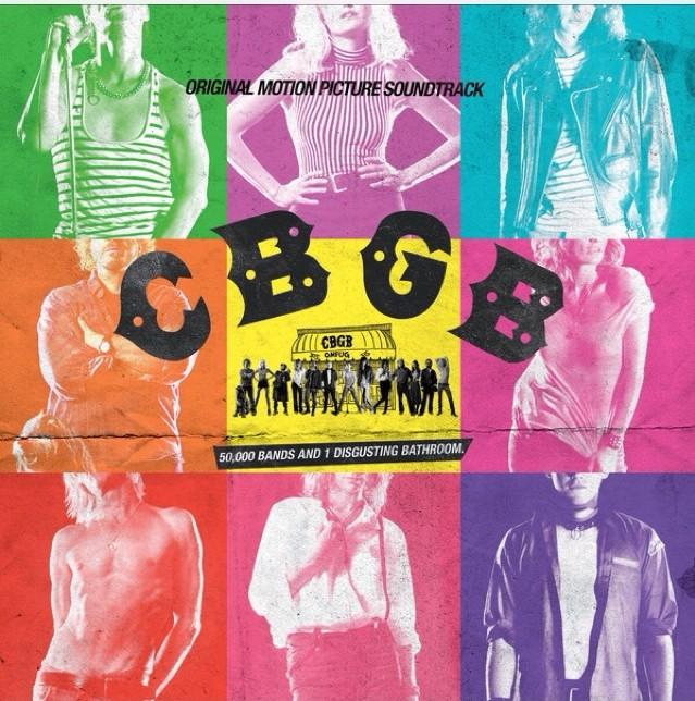 The iTunes Deluxe version of the CBGB soundtrack album artwork features the movie's actors as the featured artists (all songs should now be labeled correctly).