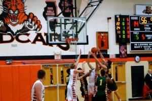 Libertyville Wildcats Boys Basketball vs. Stevenson Patriots