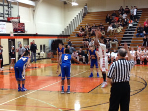 Varsity Boys Basketball Cruises to 5-0 with Win over Warren