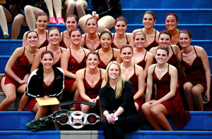 Poms and Cheerleading Teams Compete for the Big Win