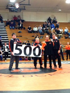 Eggert reaches 500 wins