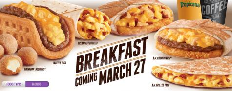 Taco Bell Breaks Breakfast News