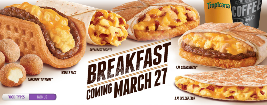 Taco+Bell+introduces+new+menu+March+27+at+7+a.m.+