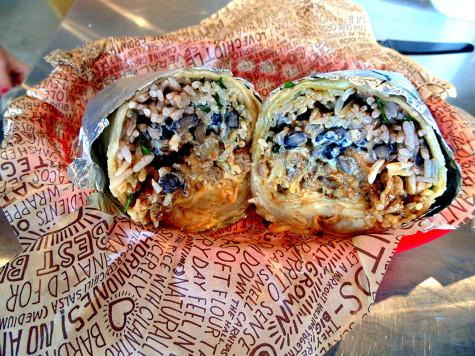 One of our favorite items we tried was the Quesarito from Chipotle.