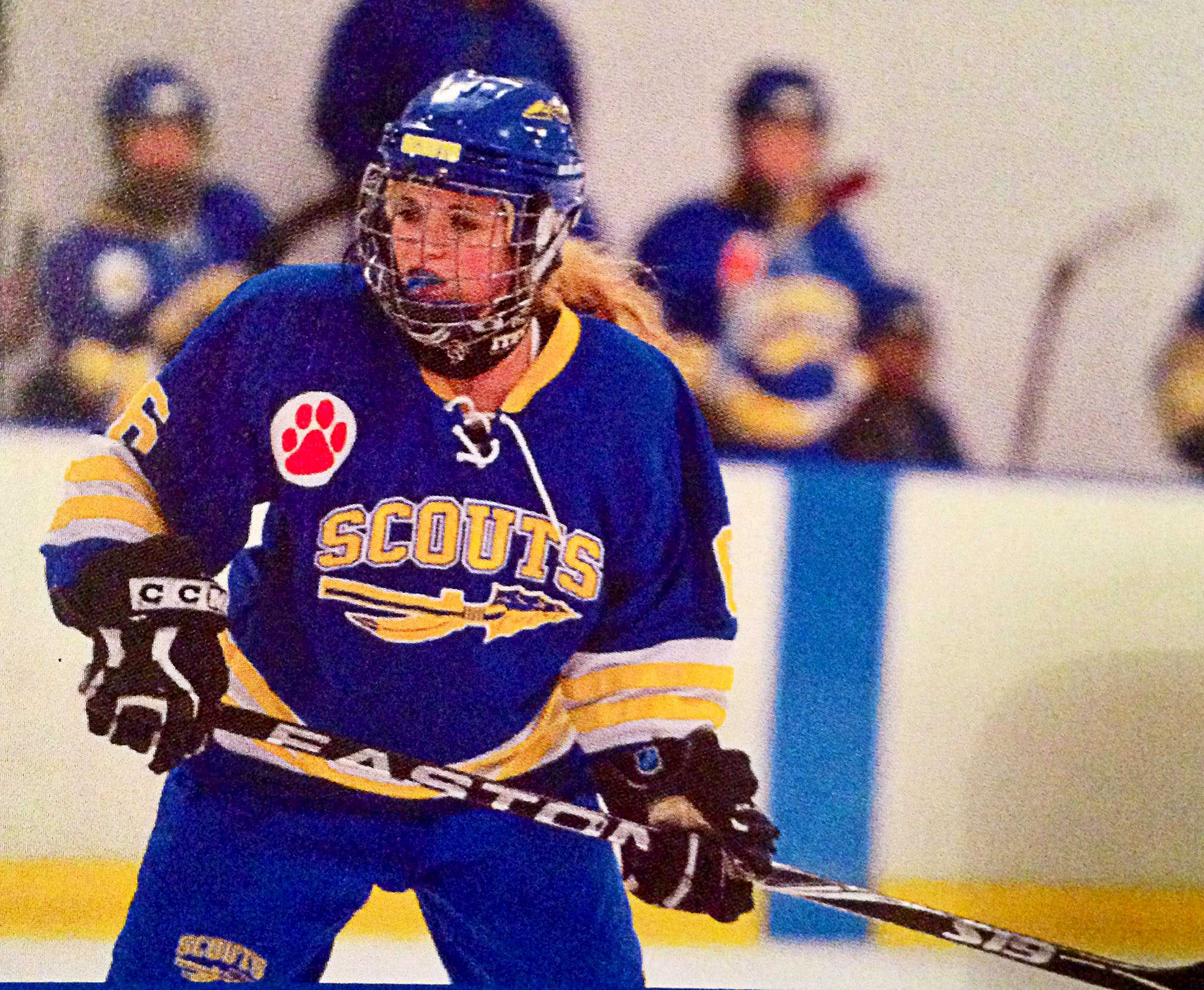 Junior Shannon Miller couldn't picture her life without hockey and hopes to continue playing club in college.