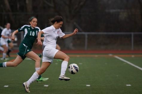 Girls Varsity Soccer: The Sidelines