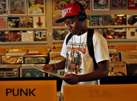 Buying music at a local store seems increasingly rare as music goes digital