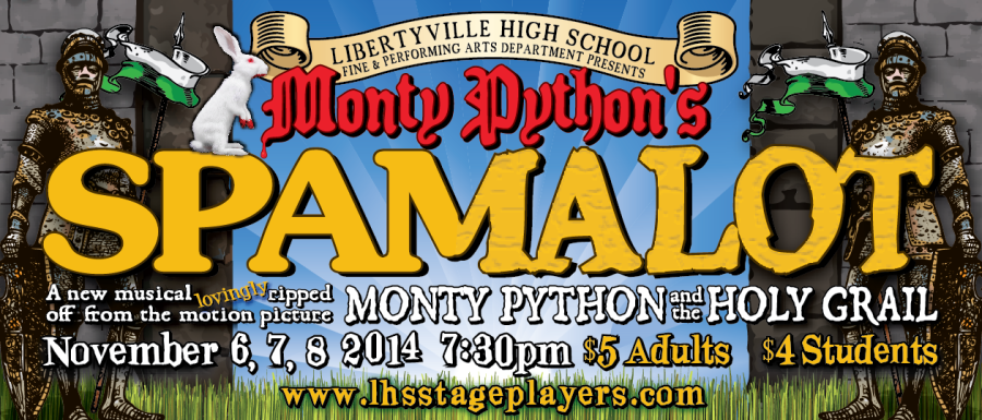 Spamalot to Hit the LHS Stage