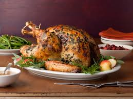 Turkey is the main course in most Thanksgiving feasts.