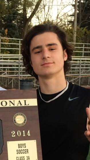 Pacholski believed that his luscious mane was the key to his success on the soccer field this season.