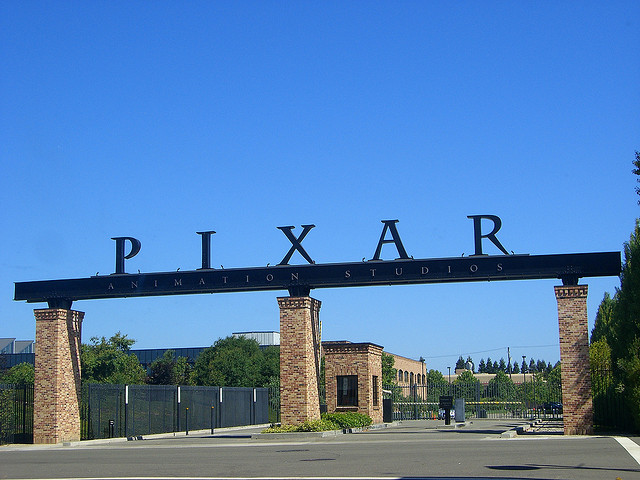 The Pixar Animation Studios is located in Emeryville, California.