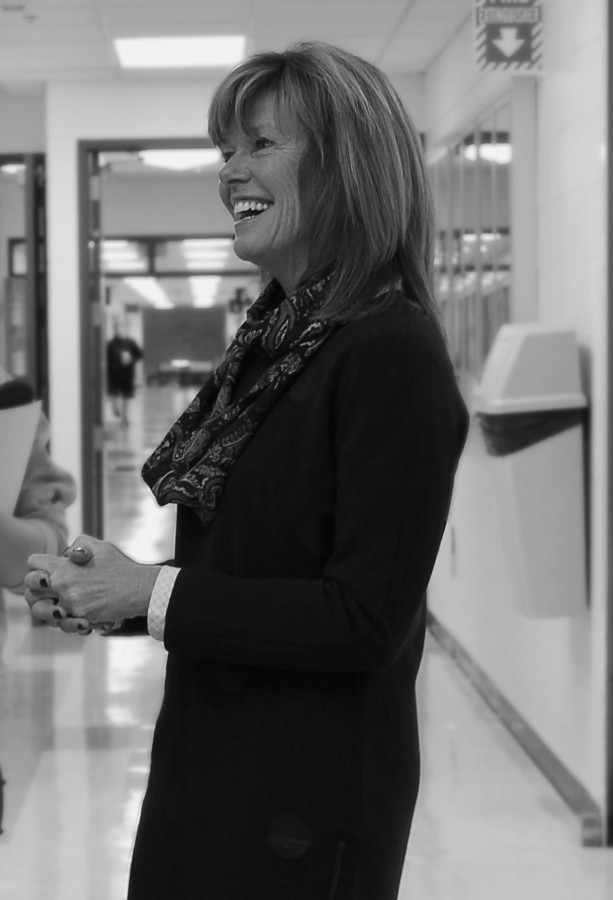 Dr. Marina Scott (laughing) brings her personality to her job.
