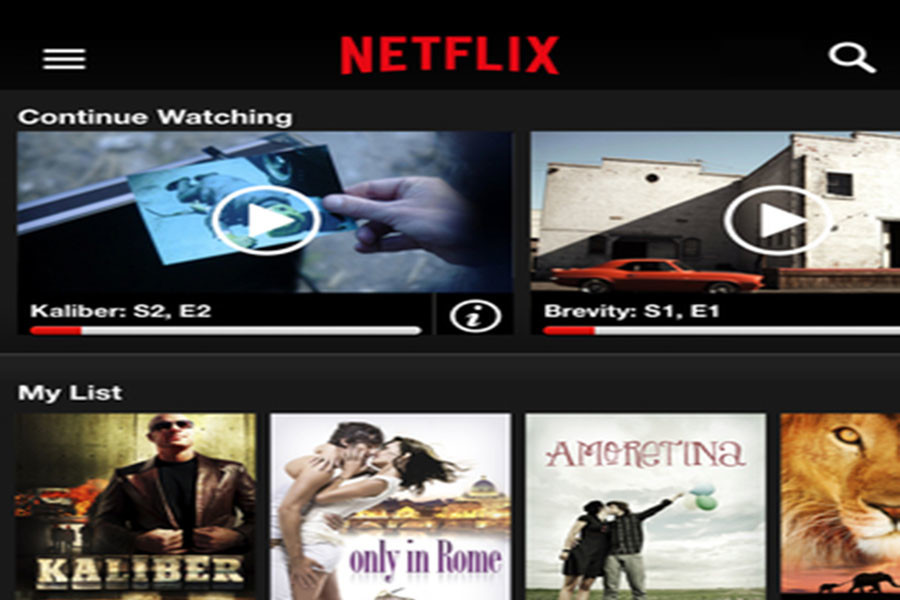 People+that+have+a+Netflix+account+are+familiar+with+the+general+look+to+Netflix%27s+home+page.+Netflix+allows+users+to+continue+watching+TV+shows+and+movies.