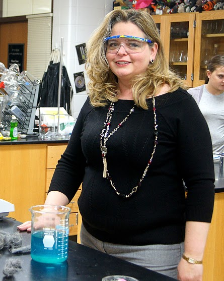 Ms. Rukes teaches AP and Honors Chemistry at LHS.
