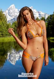 Robyn Lawley poses in the rookie section of SI