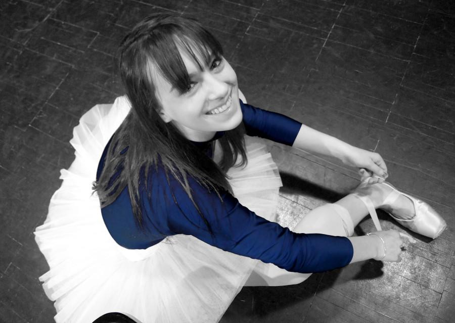 Herrmann focuses mostly on ballet and pointe with her involvement in the Joffrey Ballet Company, and enjoys being able to perform for others.