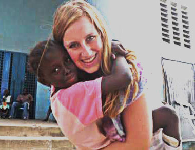 LHS alumna Jenny Prochotsky spent time with Mercyships in Africa.