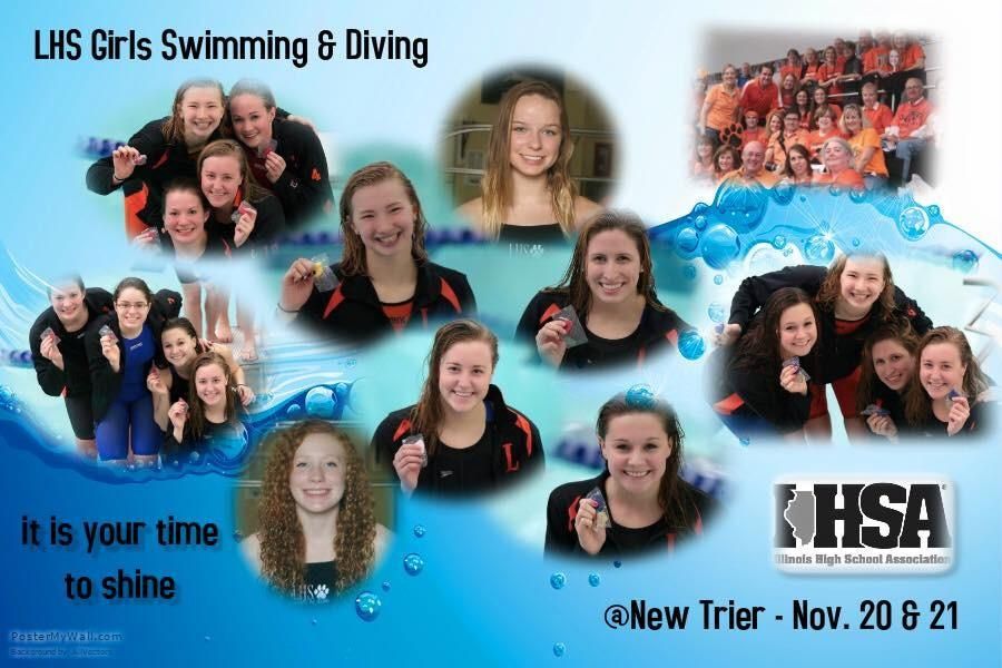 Girls Swimming State Finals Results