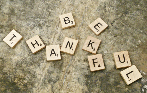 Students have many things to be thankful for such as friends, family, a good community, etc.