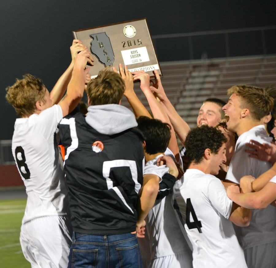There was nothing but smiles on the Wildcats' faces after a 1-0 win against Evanston in the Supersectional match this past Tuesday.