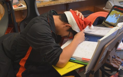Students are especially busy around the winter season with finals, sports, preparing presents for the holidays, and more.