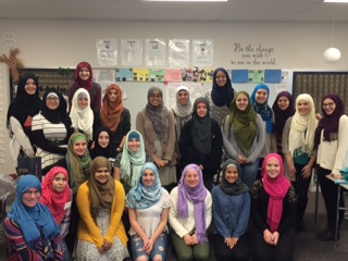 "Vernon Hills Students Participate in ""Walk a Mile in Her Hijab"""