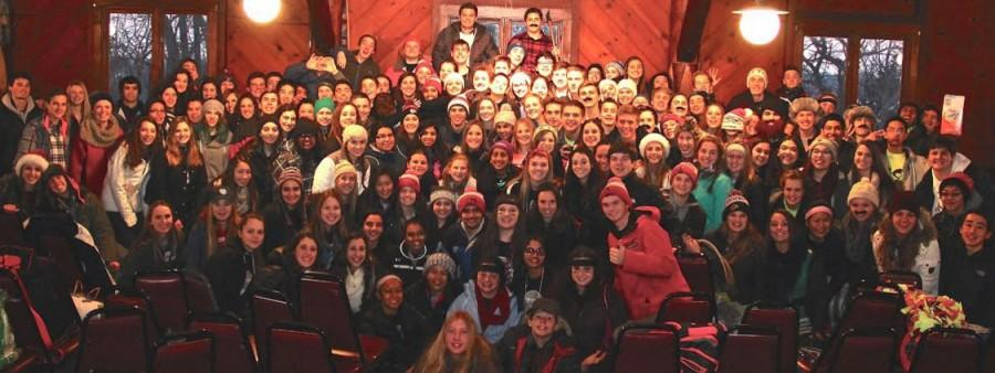 Students from Libertyville, Barrington, and Vernon Hills High Schools gathered at Camp MacLean for Operation Snowball: an all-day event dedicated to educating students about prevention.