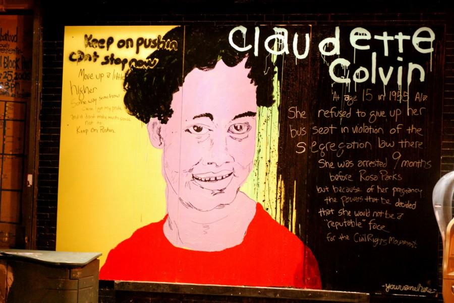 Displayed+above+is+a+mural+of+Claudette+Colvin+that+is+currently+outside+in+New+York.+Alongside+the+portrait+of+Colvin%2C+a+historical+background+and+facts+are+given+about+her.