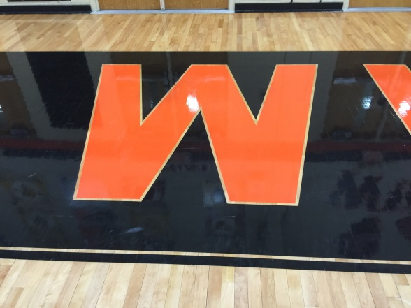 The athletes in the intramural basketball league are all about Ws.
