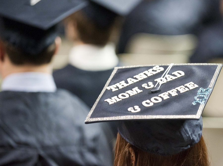 Decorated graduation caps would add an element of individuality and creativity to the ceremony.