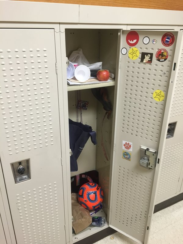 As locker clean outs approach, students comb through the treasures and trash to be found inside.