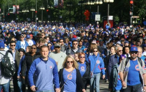 A Glimpse of the Cubs's World Series Victory Parade and Rally on Friday, Nov. 4