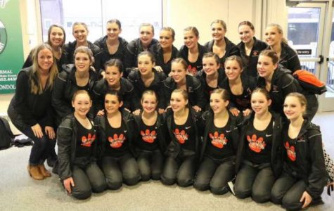 Poms Places Fifth at IHSA State Competition