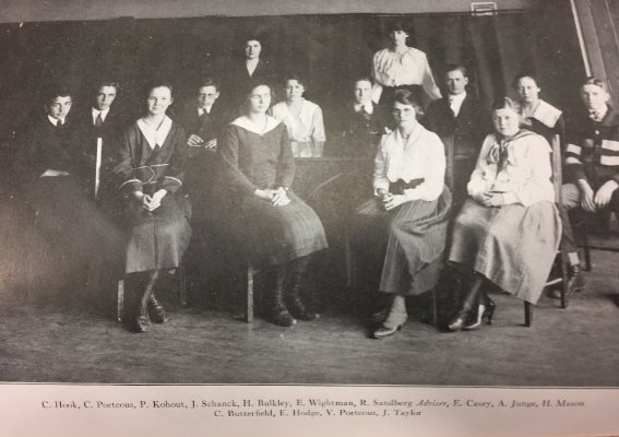 The Libertyville High School Class of 1918 graduated nearly 100 years ago, marking formation of the school in 1917. Now LHS will celebrate its 100th anniversary in a upcoming year long celebration.