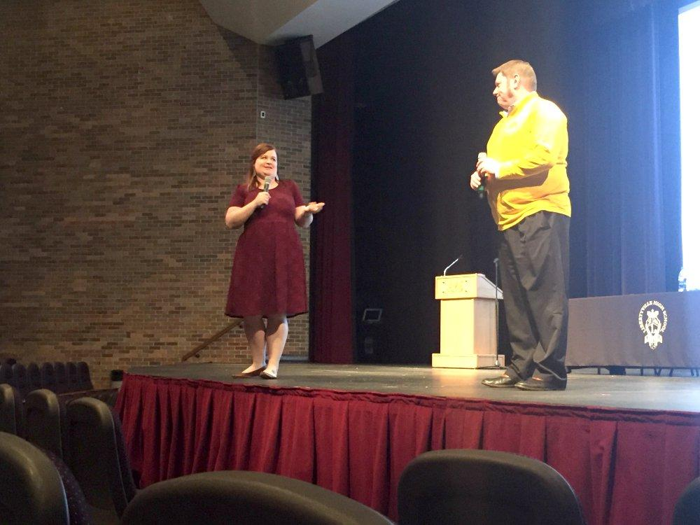 Admission representatives Mike Melinder and Megan O'Rourke discuss their tips for choosing the right college.