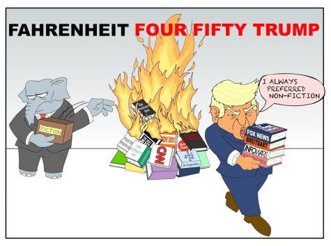 Fahrenheit Four Fifty Trump