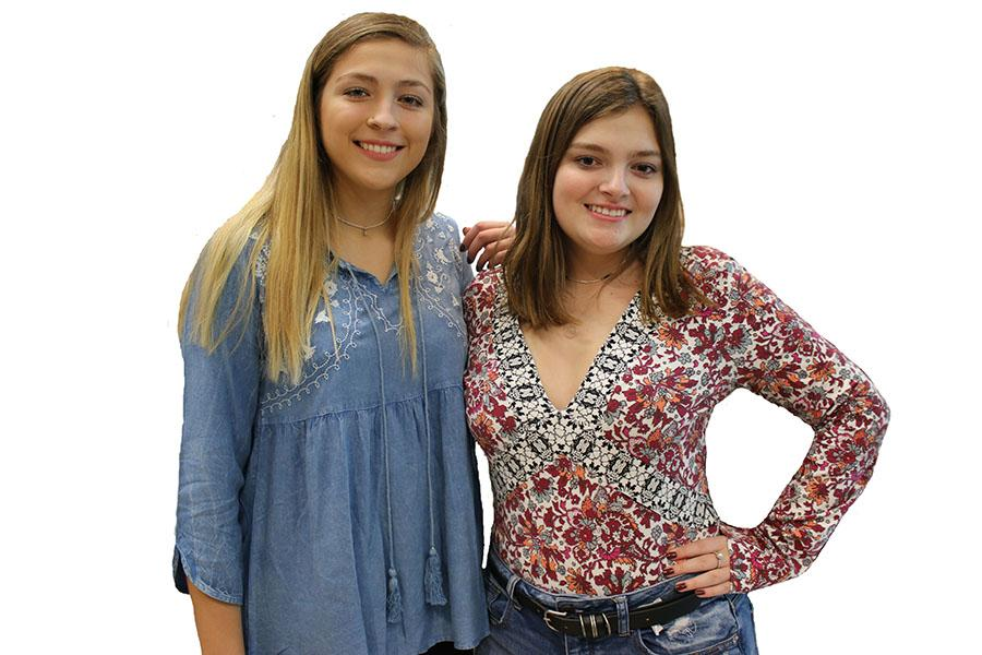Seniors Lexi Acosta and Michela Misconi started their own company, L and M Jewelry, this past December.