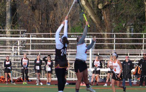 LHS Varsity Lacrosse Defeats Carmel, 8-7