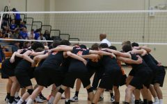 Volleyball wins last home game of the season
