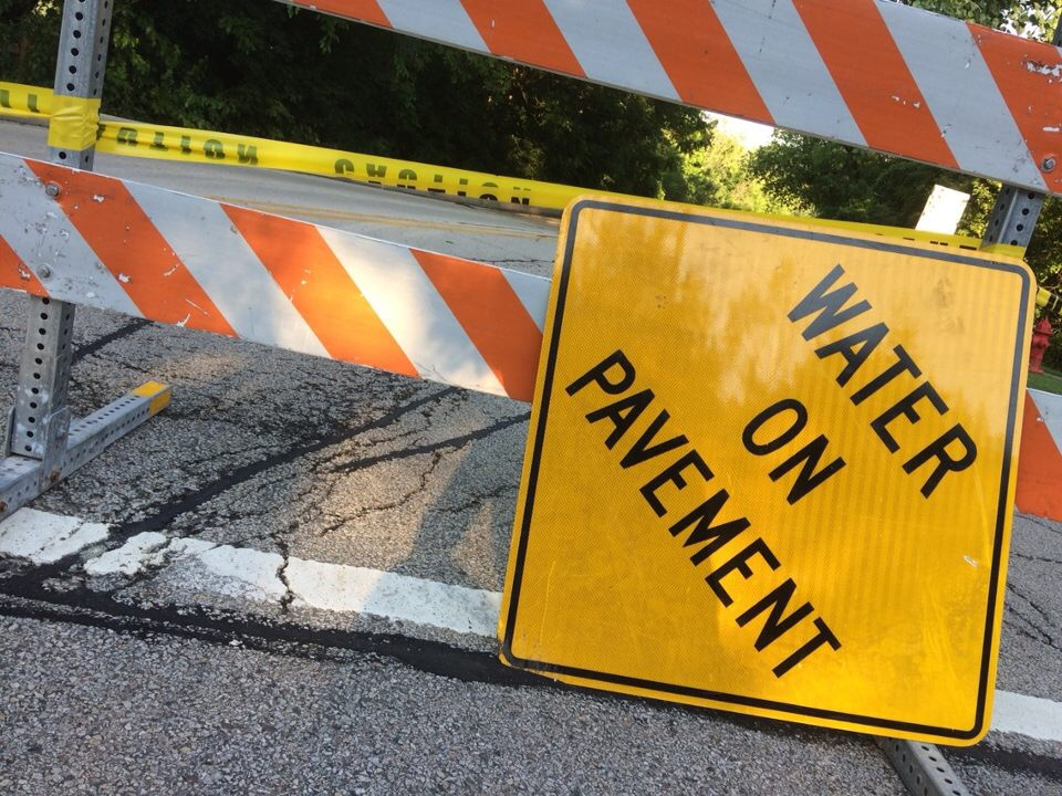 As a result of the flooding, many roads, such as Oak Spring Road, were closed for a majority of Wednesday, July 12. Flooding covered several streets, making it difficult and dangerous for cars to pass through.