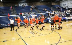 LHS Volleyball Wins Regionals Against Warren