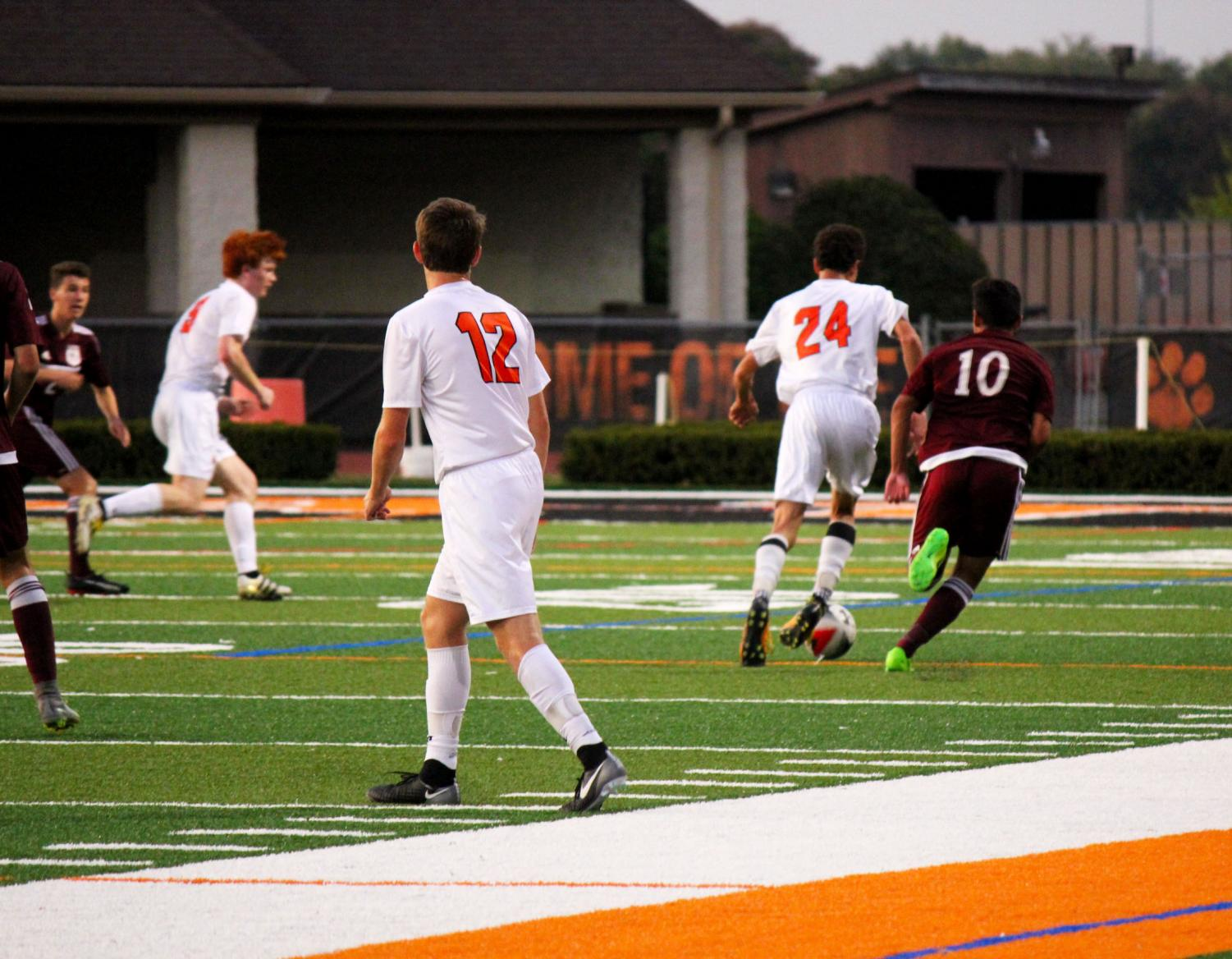 LHS boys varisty soccer had a 14-0-2 season record and was ranked as the number three team in the nation as of October 16.