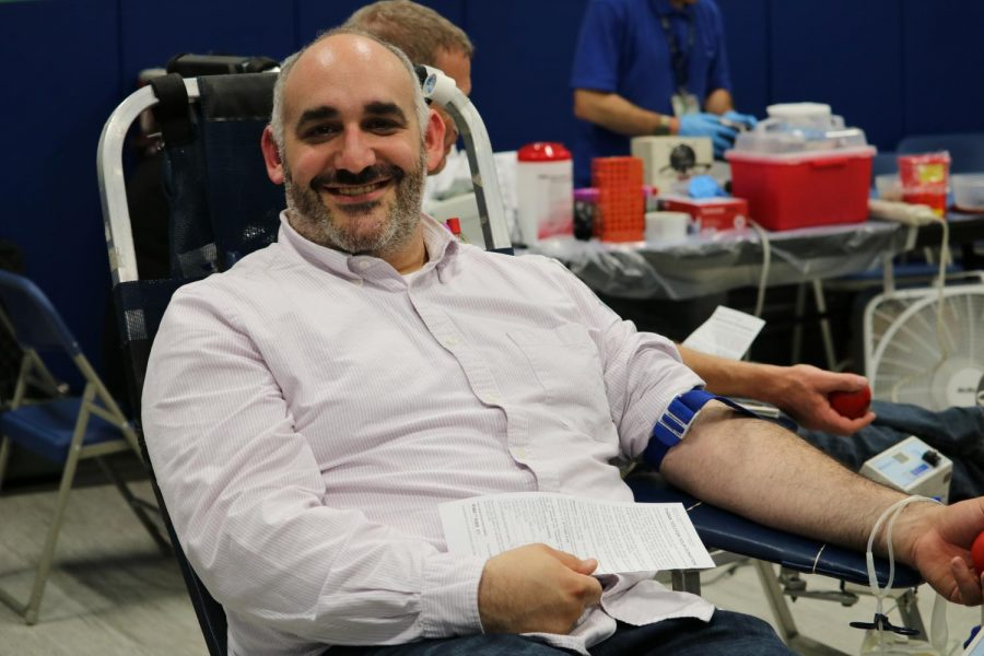 Blood drive held for teacher's daughter