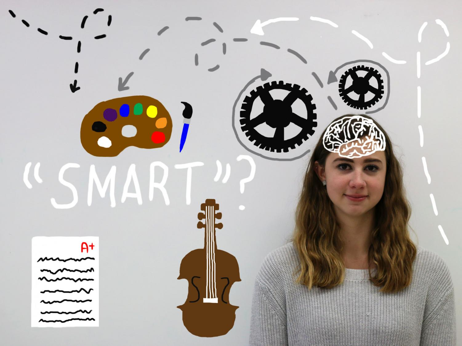 """""""Smart,"""" a term commonly used based on grades, GPA and test scores, goes beyond the realm of academics; it can also convey students' talents and passions outside of school."""