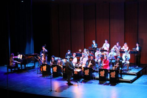 Jazz Ensembles perform their January concert